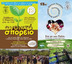 Peliti : maison des semences et fête d'échanges de semences